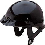 DOT 300 Explorer Motorcycle Half Helmet with Visor