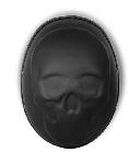 3-D Skull Novelty Motorcycle Helmet