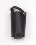 Motorcycle Leather Cup Holder With Snap On Tie