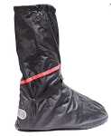 Motorcycle Rain Boot Covers With Rubber Outer Sole