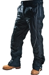 Men's Motorcycle Pants with Reflective Piping