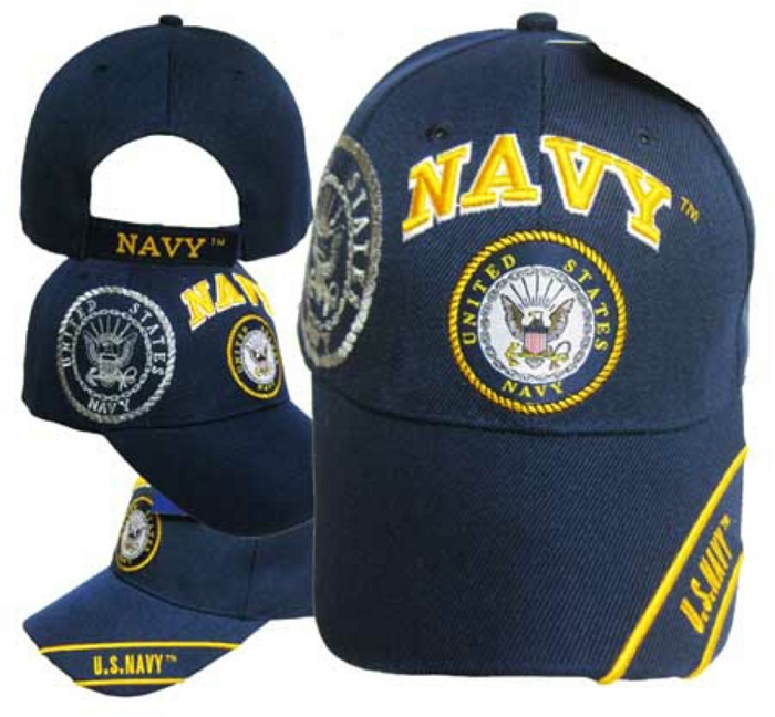 afab3a066 US Navy Hat Embroidered Cap with Seal