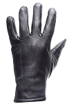 Ladies Full Finger Leather Motorcycle Gloves