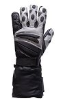 Heavy Duty Lined Leather Motorcycle Gloves
