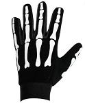 Skeleton Mesh Textile Motorcycle Mechanics Gloves