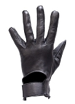 Leather Motorcycle Gloves for Summer Riding