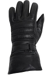 Insulated Leather Motorcycle Gauntlet Gloves