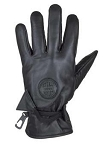 Womens Leather Motorcycle Gloves With Wrist Strap