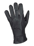 Vented Gel Palm Leather Motorcycle Gloves