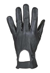 Vented Full Finger Leather Motorcycle Gloves