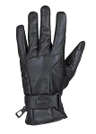 Gel Palm Leather Motorcycle Gloves with Wrist Strap