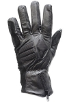 Men's Padded Top Quality Leather Motorcycle Gloves