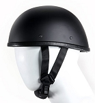 Eagle Flat Black Novelty Motorcycle Helmet