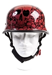 Wine Skull Graveyard German Novelty Helmet