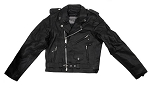 Teens Leather Motorcycle Jacket