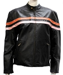 Women's Reversible Leather Motorcycle Jackets