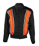 Men's Reflective High Visibility Motorcycle Jacket