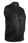 Men's Renegade Leather Motorcycle Club Vest