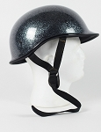 DOT Polo Style Motorcycle Helmet with Metal Flake