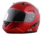 DOT Wine Dual Visor Modular Motorcycle Helmet