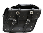 Throw Over Motorcycle Saddlebags with Studs