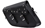 Motorcycle Swing Arm Bag with Studs Right Side