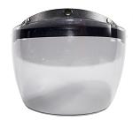 Motorcycle Helmet Visor with Smoke Flip Up Face Shield