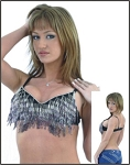 Womens Halter Top With Beads