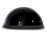 E-Z Rider Gloss Black Novelty Motorcycle Helmet