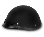 Smokey Dull Black Novelty Motorcycle Helmets