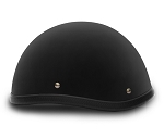 Smokey Dull Black Novelty Motorcycle Helmet