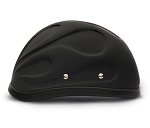 3-D Novelty Motorcycle Helmet with Flames