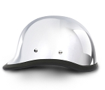 Hawk Chrome Novelty Motorcycle Helmet