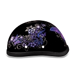 Women's Novelty Motorcycle Helmet with Butterflies