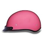 DOT Women's Pink Motorcycle Half Helmet with Visor