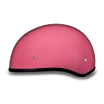 DOT Womens Pink Motorcycle Half Helmet without Visor