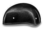 DOT Carbon Fiber Motorcycle Half Helmet