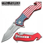 Stars and Stripes Folding Knife