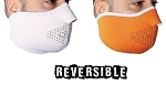 Reversible Neoprene Motorcycle Half Face Mask