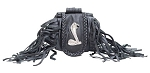 Cobra Folding Belt Bag With Fringe