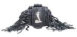 Cobra Folding Belt Bag With Fringe