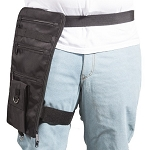 Thigh Textile Fanny Pack With Gun Pocket