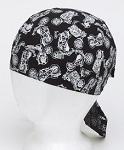 Cotton Skull Cap with Mad Motorcycles