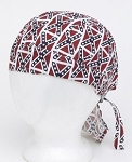 Rebel Flag Cotton Motorcycle Skull Cap