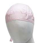 Pink Cotton Motorcycle Skull Cap