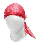 Biker Motorcycle Red Doo-Rag