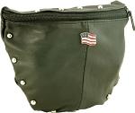 Womens American Flag Hip Bag Purse Combo