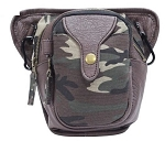 Camo Hip Bag with Zipper Compartment