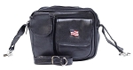 Womens Hip Bag Purse Combo with American Flag