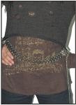 Womens Stylish Chain Belt with Heart Pendant